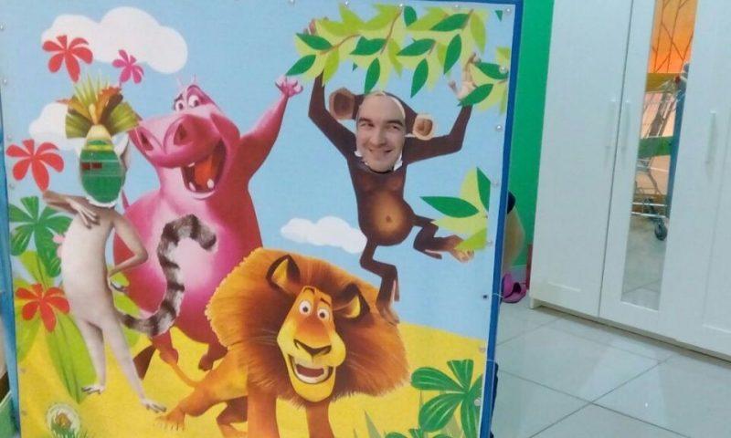 Тантамареска для детского сада с героями мультфильма Мадагаскар