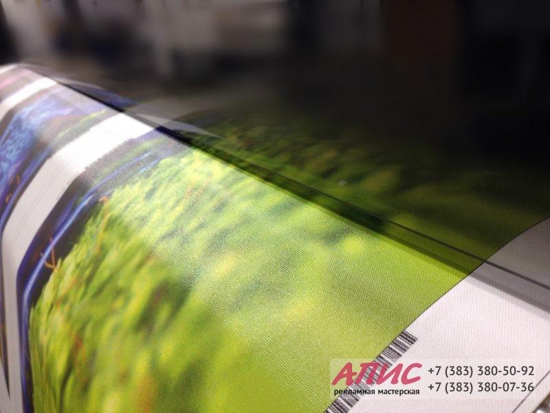 Процесс печати изображения на хослте